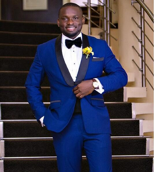 Popular Prom Tuxedos Blue-Buy Cheap Prom Tuxedos Blue lots from ...
