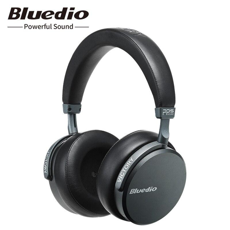 2019 Bluedio V2 casque Bluetooth 5.0 casque sans fil PPS12 pilotes casque haut de gamme avec microphone pour téléphone portable