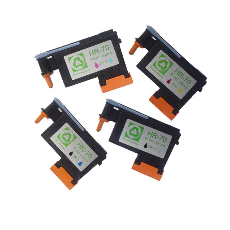 4X Compatible printhead For HP 70, for Designjet Z2100 Z3100 3200 B8850 B9180 printer, 70 Ink Cartridge Head C9404A C9407A все цены