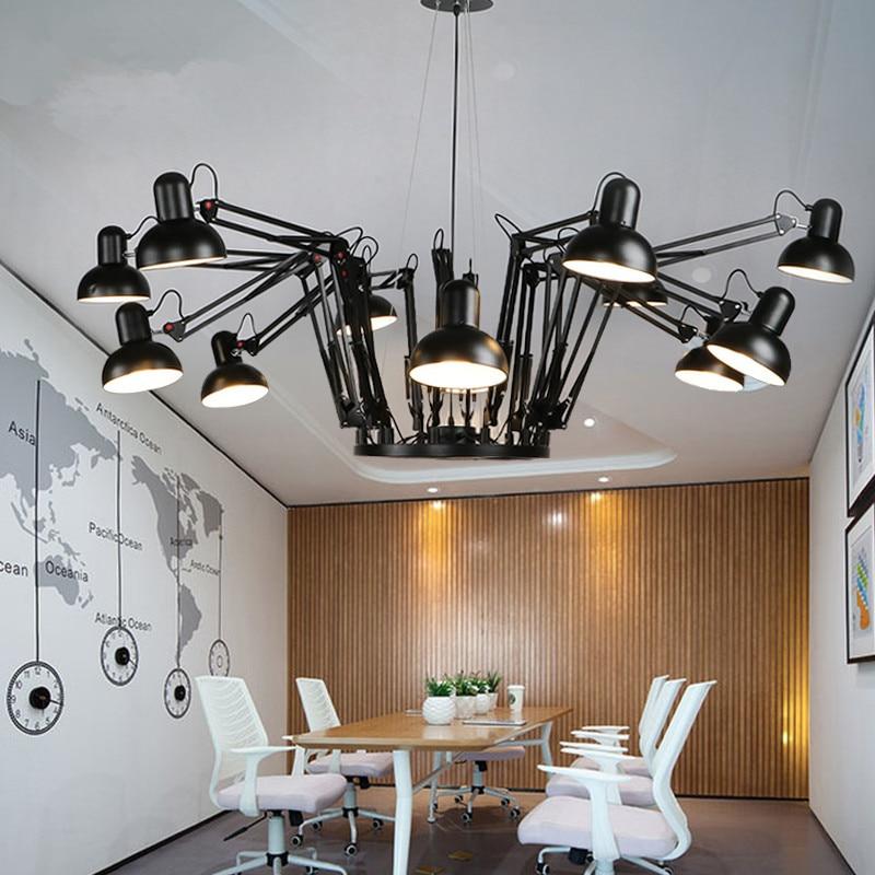 Modern Flexible Spider Pendant Light Robotic Arms Pendant Lamp