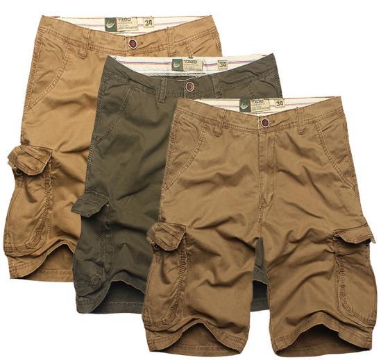 2017 Summer 100% Cotton Mens Cargo Combat Bermuda Shorts Camoflage Matte Leisure Mens Shorts Big size XXL short masculino