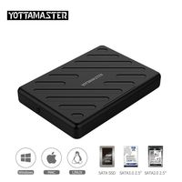 Yottamaster HDD Case 2.5 Inch SATA to USB 3.0 Hard Disk Box SSD Adapter for laptops Notebook PC Samsung Seagate HDD Enclosure