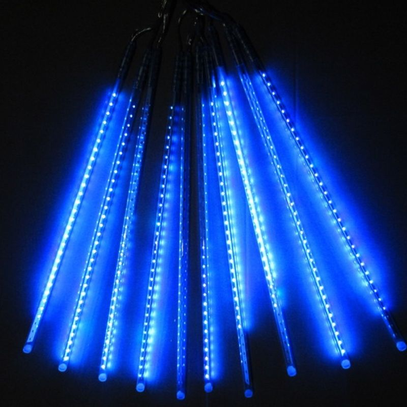 DC12V Waterproof 10Tube String 30cm 2835SMD 360LED Meteor Shower Rainfall Light Party Lamp f/Christmas Xmas Garden Garland tree