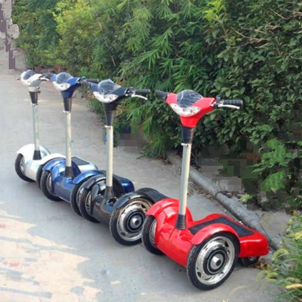 36V/14AH 500w 4 Wheel Electric Scooter Max Speed 20km/h Standing Flodable Electric Scooter include the customs fees