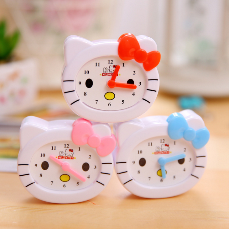 1cd9a54aa Hello Kitty 2 Pcs/set Kawaii Clock diplopore Pencil Sharpener for Kids