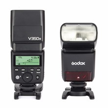 Godox V350S 2.4G Master/ Slave Camera TTL Wireless Flash Speedlite 1/8000s HSS Built-in Battery w/Battery Charger for Sony