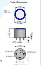 4H  Hydrogen Sulfide Sensor Part Number: AC200-800