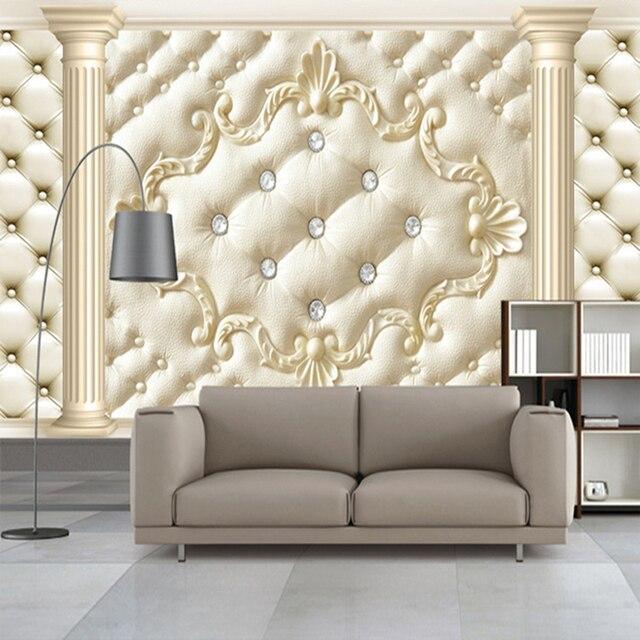 Aliexpresscom Buy Luxury Rhinestone Classic Photo Wall Paper