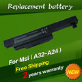 JIGU Laptop Battery A32-A24 For MSI CX480 CX480MX Ser E4212 MD97823 MD98039 MD98042 Series