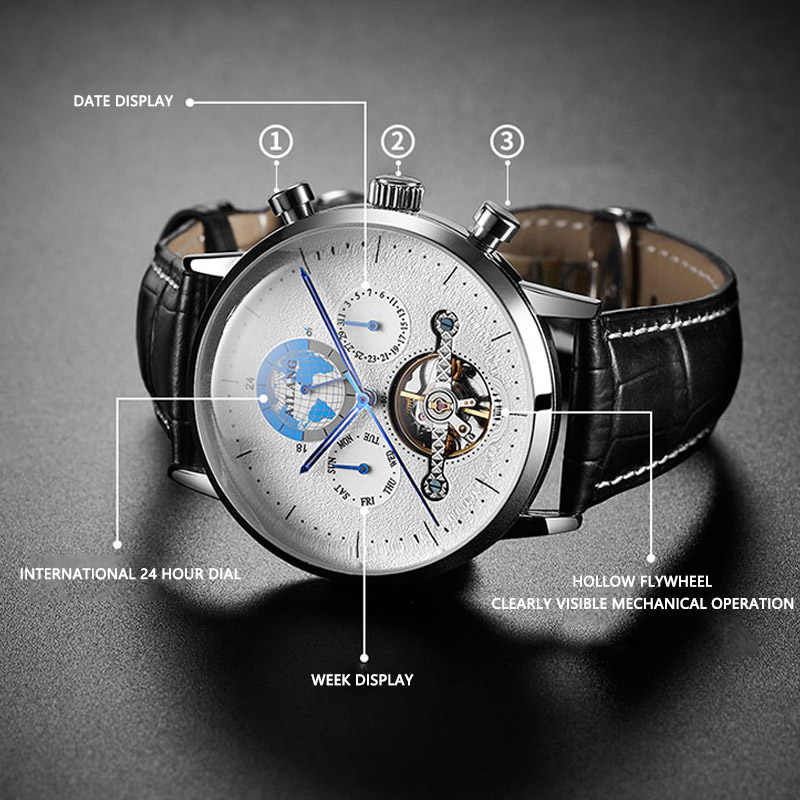 25ca74a4762b Detail Feedback Questions about AILANG TOP luxury Man s automatic ...