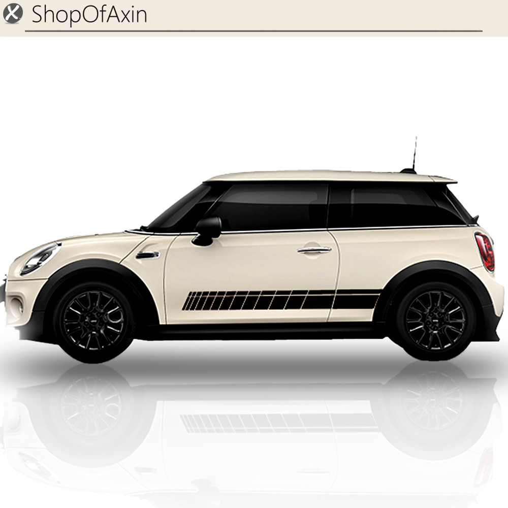 Door Rocker Panel Sticker Sport Style Decoration For MINI Cooper  Hatch Clubman Countryman R50 R53 R55 R56 R60 R61 F54 F55 F56 aliauto car styling side door sticker and decals accessories for mini cooper countryman r50 r52 r53 r58 r56