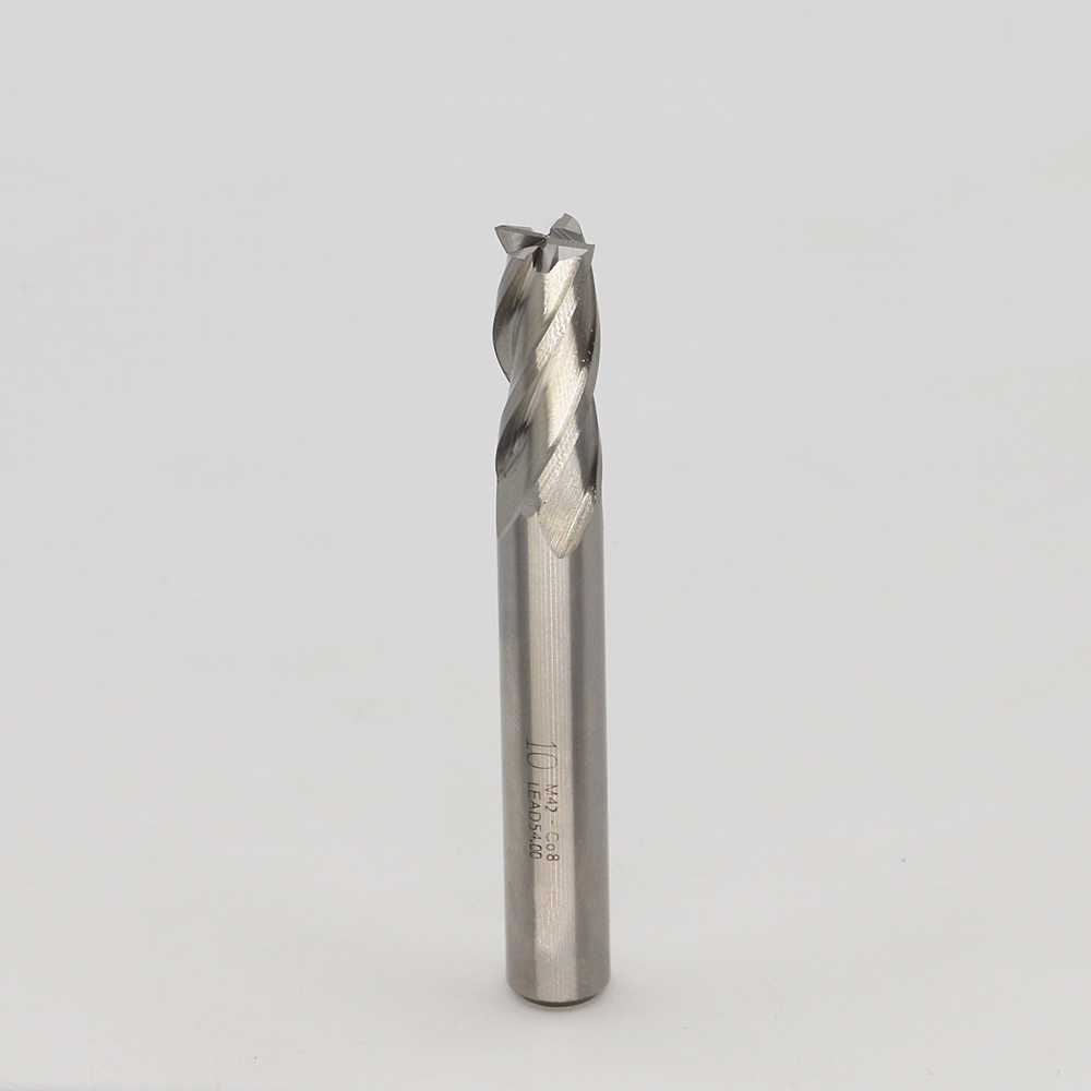 New 4Flute die 10mm Superhard cutters Cobalt cemented carbide End mills M42-Co8 CNC tool milling cutter 4F10*10*25*80  цены