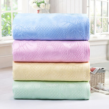 2016 0-3 Months Direct Selling Rushed Solid Swaddle Baby Blankets Newborn 100%bamboo Blanket Air Conditioning Nap Oversized