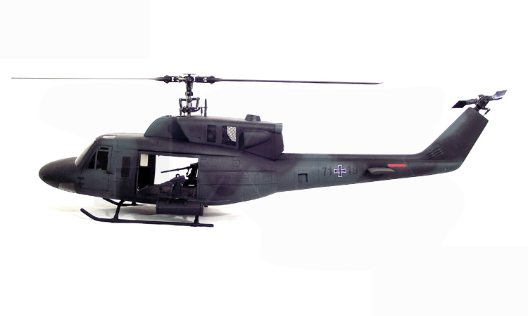 Military UH-1 500 Bell UH-1N Twin Huey 500 Scale Fiberglass Fuselage With Weapons Licensed Bell Helicopter Product недорого