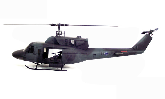 Military UH 1 500 Bell UH 1N Twin Huey 500 Scale ...