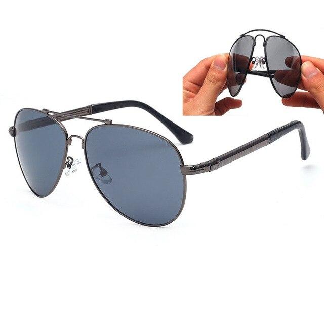 350d9999c4 Vazrobe (155mm) Mens Polarized Sunglasses Driving Foldable Sun Glasses for  Man Acetate Temple Spring