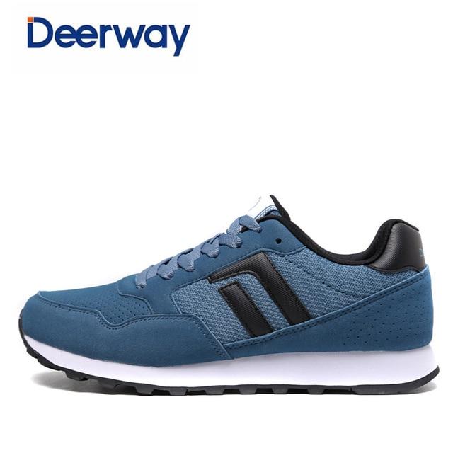 quality design ba798 1228c € 41.14  Deerway 2017 nuevas zapatillas para los hombres zapatos de hombre  mens barato spor ayakkab scarpe da corsa zapatillas de deporte de Alta ...