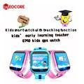Q750 kids gps smart watch relógios com wifi 1.54 polegada toque do bebê tela de Chamada SOS Localização Rastreador Dispositivo PK Seguro Q50 Q60 Q80 Q90