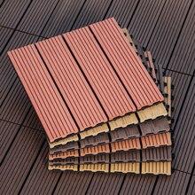 1 шт. 30 мм* 300 мм блокирующая напольная плитка экологическое покрытие для пола, пластик, дерево Антикоррозийная плитка для ванной Патио Сад DIY