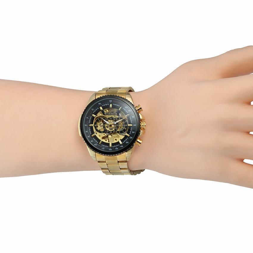 HTB1BR8KKr1YBuNjSszeq6yblFXa6 New Hot Winner 0352 Mens Watches Military Sport Clock Male Top Brand Luxury Skeleton Clocks Automatic Mechanical Steel Men Watch