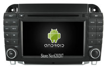 S160 Android 4.4.4 CAR DVD player FOR Benz S Class S350 S400 S500 S600 car audio stereo Multimedia GPS Quad-Core