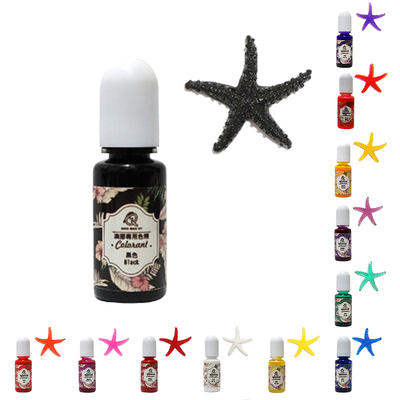 13 Colors UV Resin Pigment Polish Solid Glue For Jewelry DIY Silicone Mold Handmade Art Crafts Coloring Dye Colorant