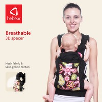 Bebamour Safety Colorful Baby Carrier Comfortable Backpacks For Women Original Mesh Fabric Breathable Ergonomic Kid Sling