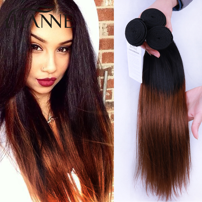 Ombre straight hair malaysian straight hair 4 bundles dark brown ombre straight hair malaysian straight hair 4 bundles dark brown ombre human hair extension 1b33 human hair weave bundles in hair weaves from hair pmusecretfo Gallery