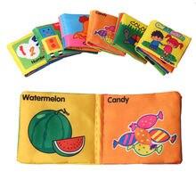 Livros de Pano Do Bebê macio Infantil Carrinho de Aprendizagem Educacional Brinquedos Chocalho Mordedor Bebe Móvel Para O Bebê Recém-nascido 0-12 meses