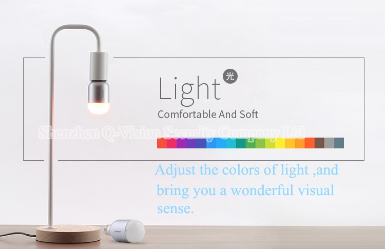10--Lifesmart High Quality Smart Bluetooth Lamp E27 Wireless Remote Control 160 Million Colors Dimming for Home Automation