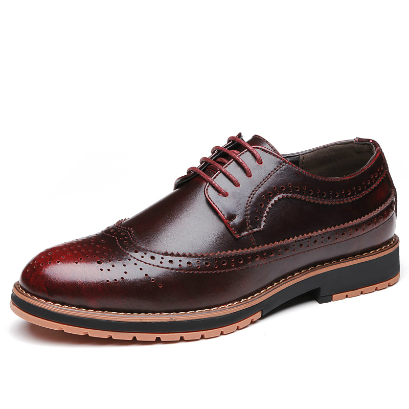 new 2016 cow leather Oxford Shoes Bullocs