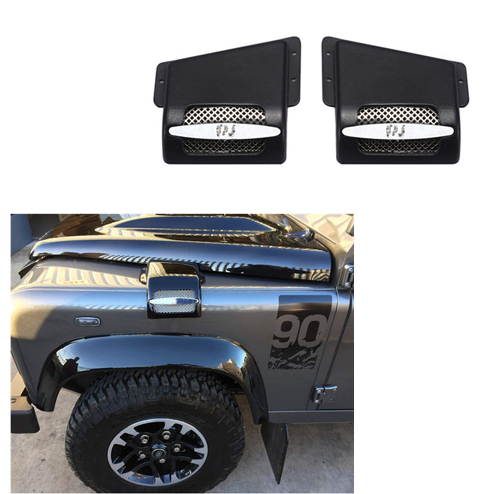 Air Filter Engine Large Flow Air Inlet Cover For Traxxas TRX4 Land Rover Defender D90 D110 Series RC Model Car Decoration Parts