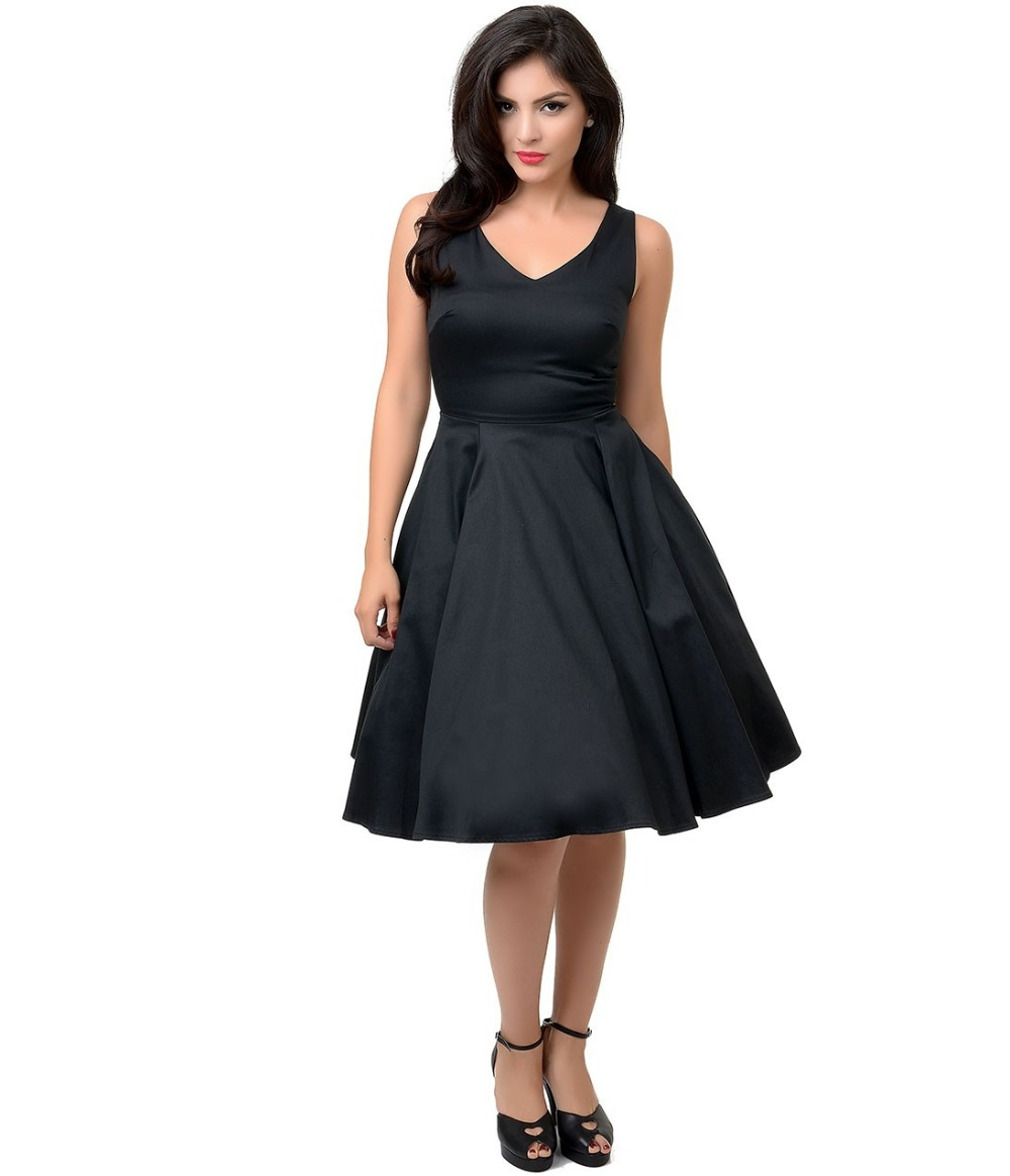 Popular Little Black Dress Cotton-Buy Cheap Little Black Dress ...