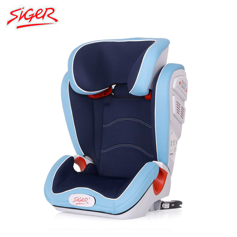 Child Car Safety Seats SIGER  Olimp FIX, 3-12 years, 15-36 kg, group 2/3 Kidstravel child car safety seats siger prime isofix 1 12 9 36 kg band 1 2 3 kidstravel
