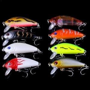 Image 4 - 56PCS דיג פתיונות סט מעורב מינאו הרבה פיתוי פיתיון Crankbait להתמודד בס דיג Wobblers מתאים עבור סוגים שונים של דגים