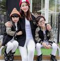 Active Wool & Blends Family Coats Clothes for Mother and Daughter and Son Children Outerwear & Coats Winter Family Set DR02