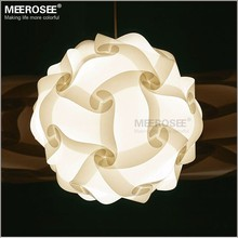 DIY Novelty Pendant Ball lamp Plastic pendant lamp white color pendant lights for restaurant Hanging Suspenda Lighting
