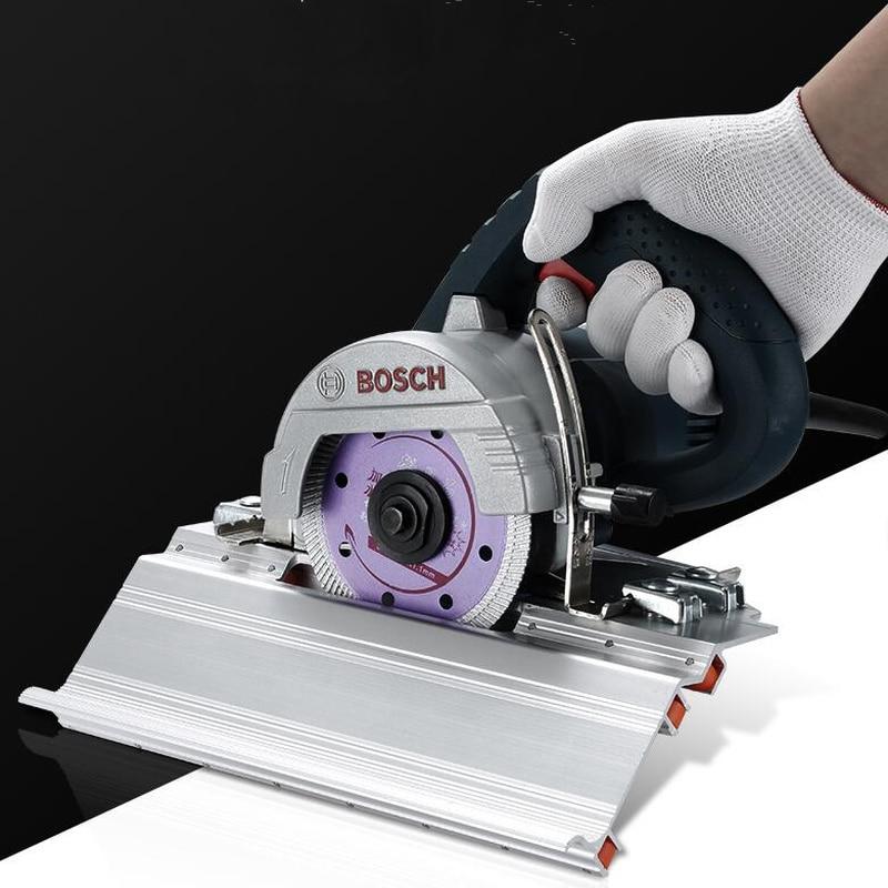 قابل للتعديل البناء 45 درجة الشطب القاطع حجر آلة قطع بلاط الرخام الشطب دليل محدد أدوات البناءمجموعات أدوات يدوية   -
