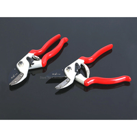 1Pc Upmarket Teflon Chromium Coating Pruning Shear Branch Garden Anvil Pruner Potted Grafting Pruner Gardening Tools HCS Scissor