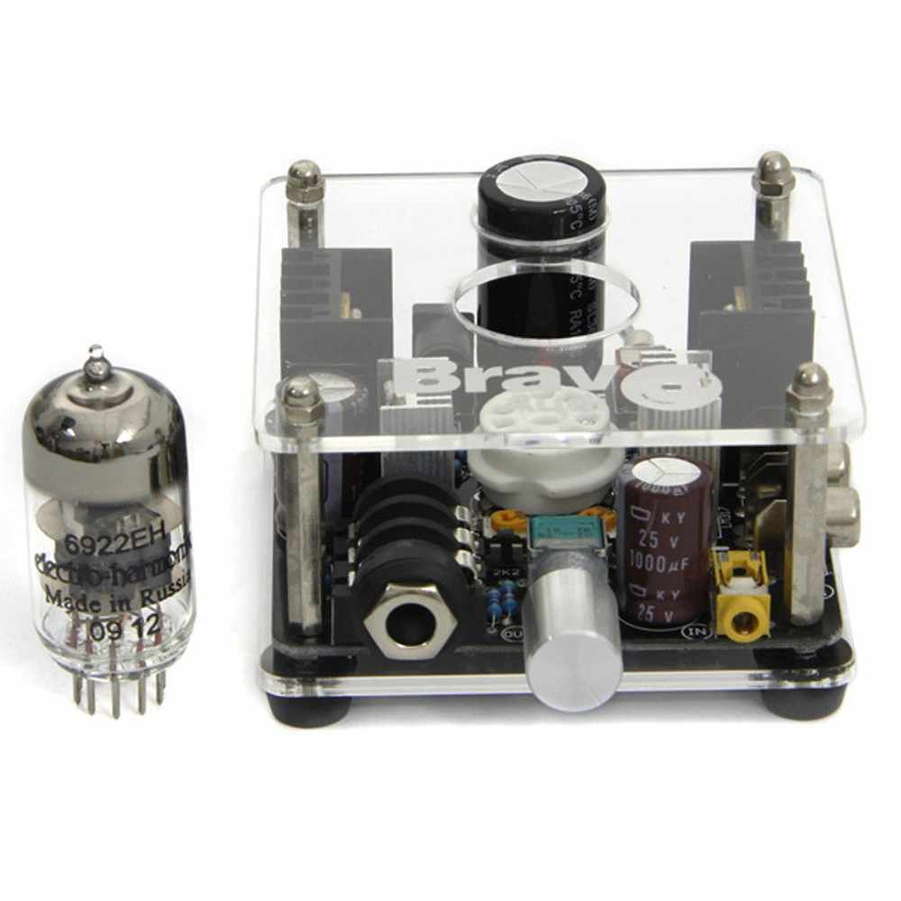 Detail Feedback Questions About Bravo Audio V1 Valve Class A Russian 12au7 Tube Headphone Amplifier Eh 6922 Preamp