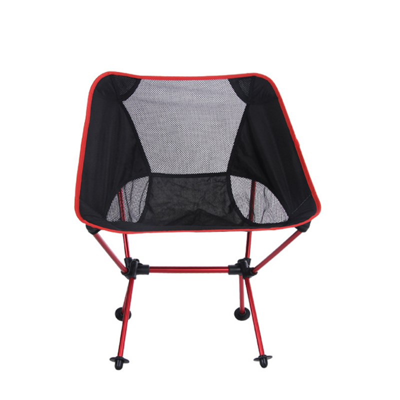 Outdoor Fishing Chair  Beach With Bag Portable Folding Chairs Fishing Camping Chair Seat  Oxford Cloth Lightweight Seat BBQ