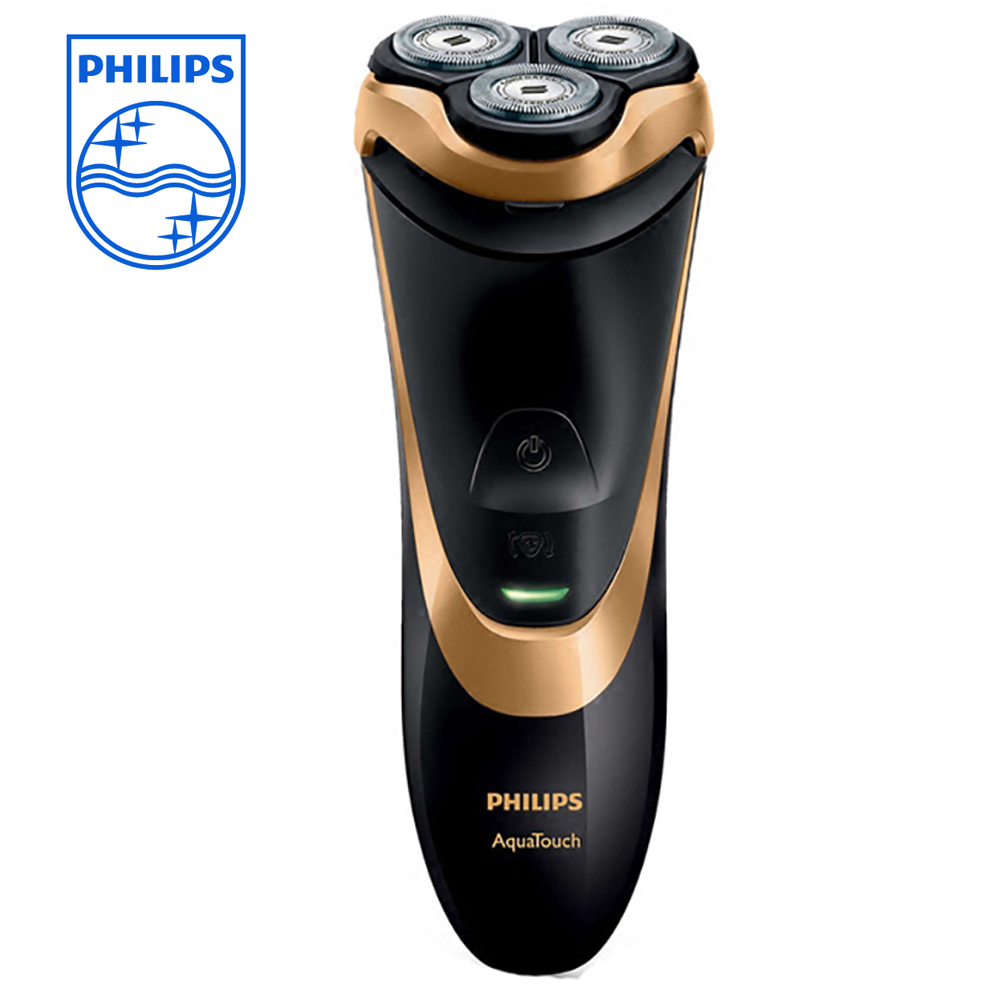 PHILIPS AT798 Electric Razor Rotary Beard Shaver with Trimmer Bady Washable Rechargeable Razor Build-in Li-ion Battery 220v philips brl130 satinshave advanced wet and dry electric shaver