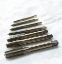High quality HSS M35 5%Co Full CNC grinded 10PCS Machine straight Tap Screw Taps HSS M3 M4 M5 M6 M8 M10 M12 M14 M16 M18 for SS цена