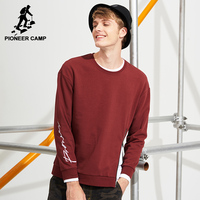 Pioneer Camp Embroidery Sweatshirts Men Brand Clothing Fashion Design Zipper Male Hoodies Top Quality Tracksuit AWY701201