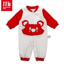 Baby rompers симпатичные животные коала один кусок одежды младенца длинный рукав детский комбинезон и комбинезон новорожденных продукта