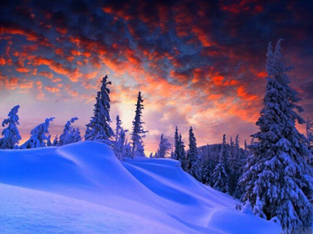 Скачать Обои На Телефон Зимние Пейзажи