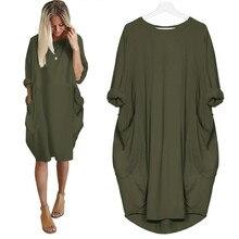 c39bf1e941 5XL duży rozmiar wiosna sukienki na co dzień z dekoltem w kształcie litery