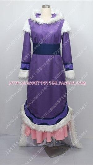 Avatar le dernier Airbender princesse Yue Costume Cosplay E001