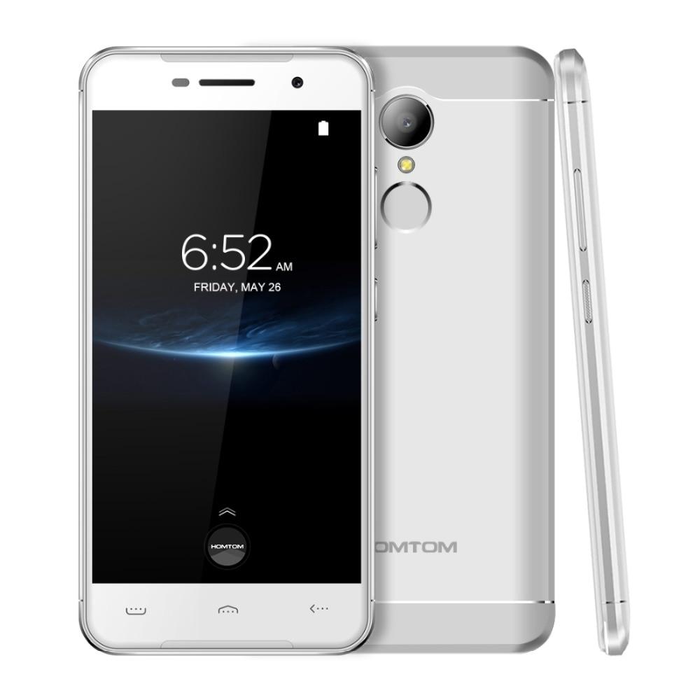 HOMTOM HT37 Pro Android 7.0 Mobile Phone MTK6737 Quad Core 3GB RAM 32GB ROM 5.0'' 1280x720 Fingerprint Smartphone OTG 4G LTE