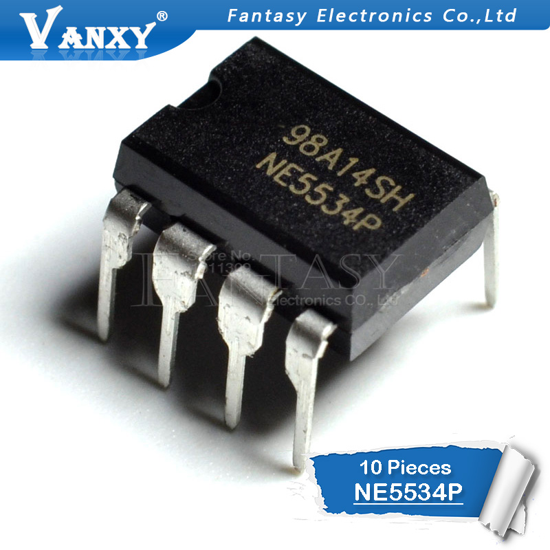 10PCS NE5534P DIP8 NE5534 DIP 5534P New And Original IC